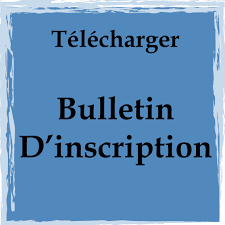 Bulletin inscription a telecharge